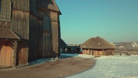 A ilha a maior no Dnieper Fotografia de Stock