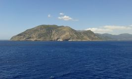 Ilha mediterrânea Fotografia de Stock