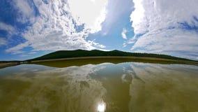 A ilha misteriosa de Olkhon no Lago Baikal A paisagem de Imagens de Stock Royalty Free