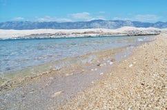 Ilha na Croácia imagem de stock