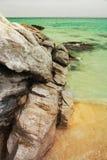 Ilha no dia de verão Fotografia de Stock Royalty Free