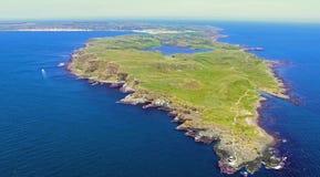 Ilha Oceano Atlântico Antrim Irlanda do Norte 2018 de Rathlin foto de stock