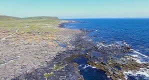 Ilha Oceano Atl?ntico Antrim Irlanda do Norte de Rathlin foto de stock royalty free