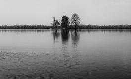 Ilha pequena no lago Dal Imagem de Stock Royalty Free