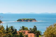 Ilha pequena no Mar Egeu em Grécia Imagens de Stock Royalty Free