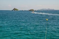 Ilha pequena perto de Koh Chang Fotos de Stock