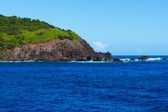 Ilha Pitcairn no South Pacific imagem de stock