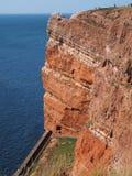 Ilha a pouca distância do mar Helgoland imagem de stock royalty free