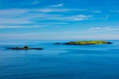 Ilha remota em Escócia Imagem de Stock