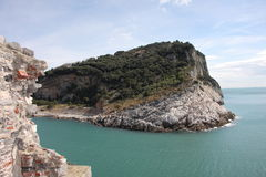 A ilha selvagem: O Palmaria Foto de Stock
