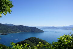 Ilha stora Brasilien Arkivfoto