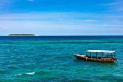 Ilha Tanz?nia East Africa de Mnemba Unguja Zanzibar imagens de stock royalty free