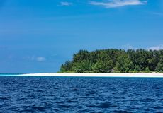 Ilha Tanz?nia East Africa de Mnemba Unguja Zanzibar imagens de stock