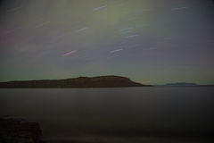 Ilha Thunder Bay do caribu, Ontário, Canadá imagem de stock