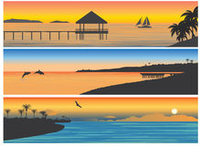 Ilha tropica Fotografia de Stock Royalty Free