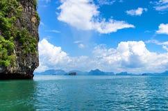 Ilha tropical imagens de stock
