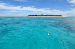 Ilha tropical fotografia de stock