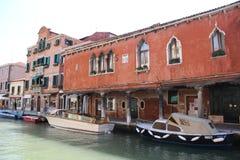 Ilha Veneza de Murano imagens de stock