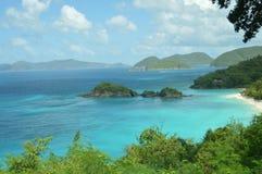 Ilha virgem de St John foto de stock