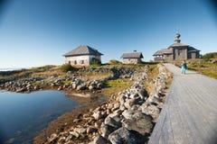 Ilha Zayatsky, Solovki Imagem de Stock
