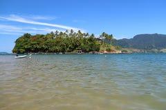 Ilhabela,巴西- Ilha das Cabras 图库摄影
