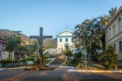 Nossa Senhora Dajuda Church - Ilhabela, Sao Paulo, Brazil. Ilhabela, Brazil - Sep 10, 2017: Nossa Senhora Dajuda Church - Ilhabela, Sao Paulo, Brazil stock images