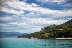 Ilhabela coast Stock Photo