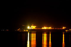 Ilhabela la nuit Images stock