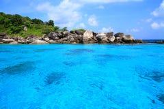 Ilhas bonitas Fotografia de Stock Royalty Free