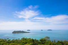 Ilhas bonitas Foto de Stock
