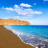 Ilhas Canárias de Fuerteventura da praia de Gran Tarajal imagens de stock