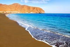 Ilhas Canárias de Fuerteventura da praia de Gran Tarajal fotos de stock royalty free