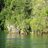 Ilhas da rocha imagem de stock