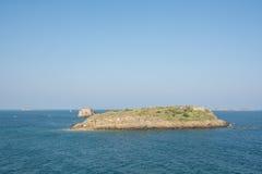 Ilhas da rocha Foto de Stock