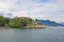 Ilhas de Borromean - ilha de Isola Bella Beautiful no lago Maggiore - Stresa Imagem de Stock
