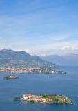 Ilhas de Borromean, Isola Bella, lago Maggiore Fotografia de Stock Royalty Free