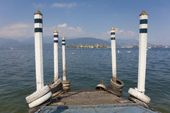 Ilhas de Borromean, lago Maggiore Fotos de Stock