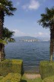 Ilhas de Borromean, lago Maggiore Foto de Stock