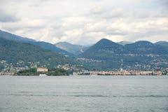 Ilhas de Borromee - ilha Isola Madre da mãe no lago Maggiore - Stresa - Itália Imagens de Stock Royalty Free