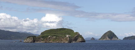 Ilhas de Costa Rica fotografia de stock