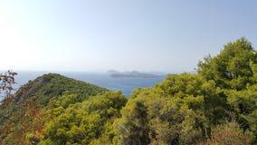 Ilhas de Elafiti na Croácia Fotos de Stock