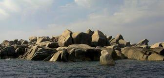 Ilhas de Lavezzi - Bonifacio Corsica Imagens de Stock Royalty Free