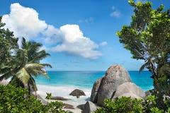 Ilhas de Seyshelles Imagens de Stock