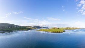Ilhas de Shetland Scalloway Fotos de Stock