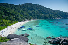 Ilhas de Similan, Tailândia, Phuket Imagens de Stock