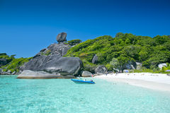 Ilhas de Similan, Tailândia, Phuket Imagem de Stock
