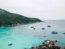 Ilhas de Tailândia Phuket Similan Imagens de Stock