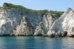 Ilhas de Tremiti imagens de stock