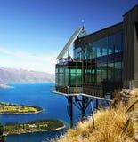 Ilhas do Pacífico, Oceania, Nova Zelândia, Queenstown fotos de stock royalty free
