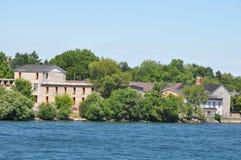 1000 ilhas e Kingston em Ontário Imagens de Stock